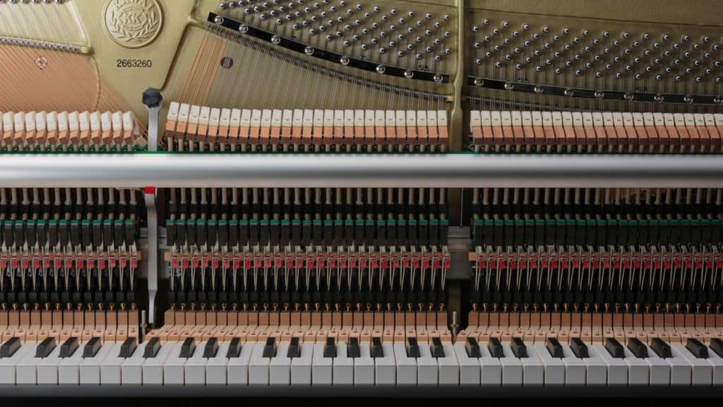 Klaviermechanik Kawai (Bildquelle: Kawai)