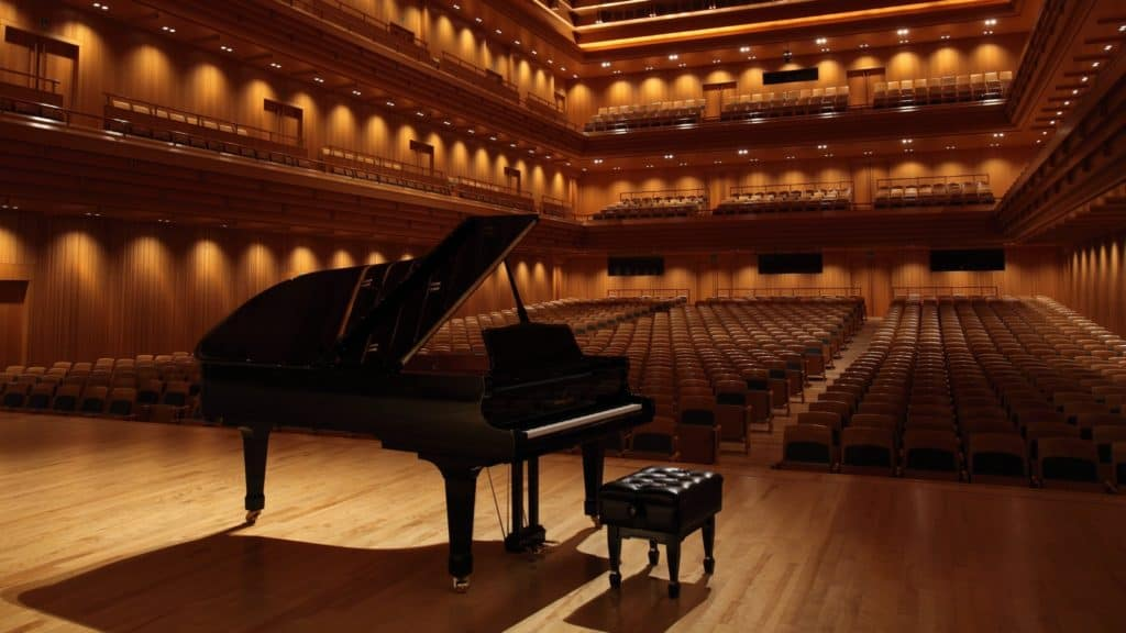 Konzertflügel Konzertsaal (Bildquelle: Kawai)