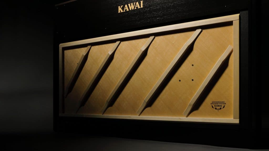 Kawai CA98 Resonanzboden-System