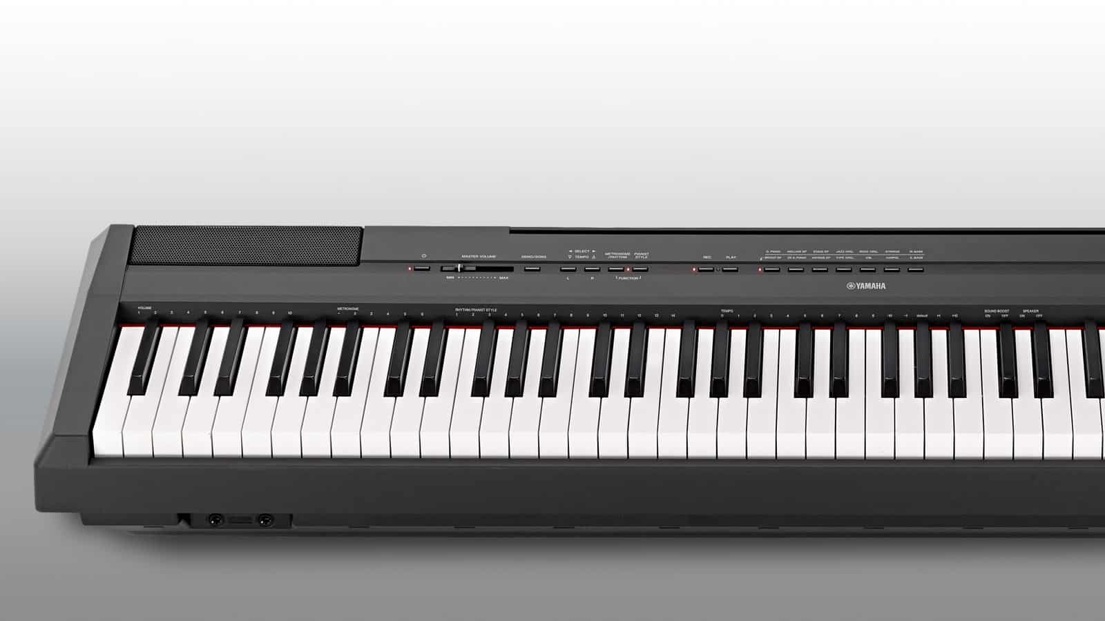 test yamaha p 115 portable piano. Black Bedroom Furniture Sets. Home Design Ideas