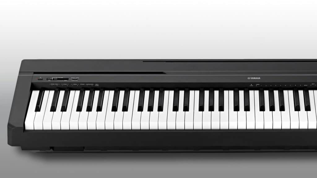 test yamaha p 45 portable piano. Black Bedroom Furniture Sets. Home Design Ideas