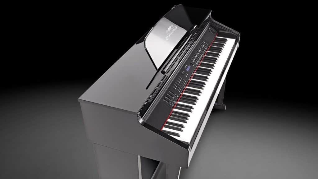 Hemingway DP-701 MKII BP - Digitalpiano im Hochglanz-Design