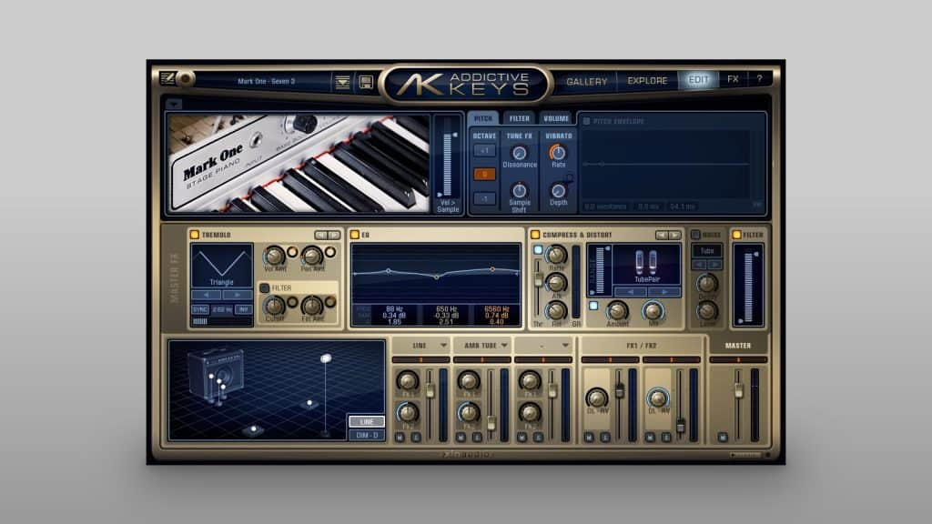 XLN Audio Addictive Keys Mark One E-Piano