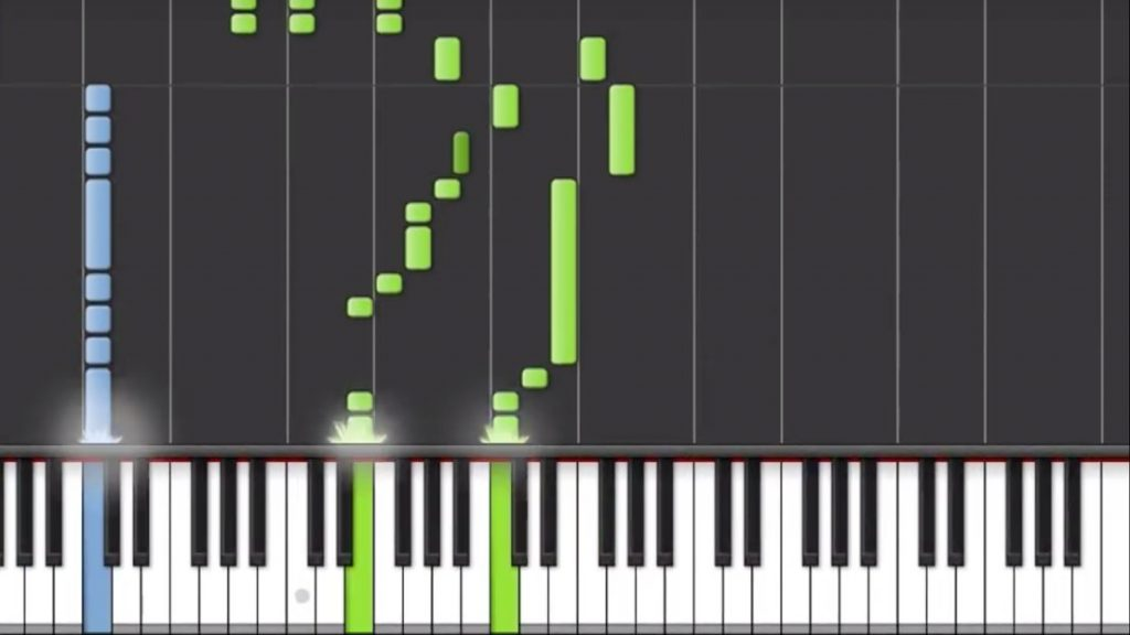 Am PC Klavier lernen mit Synthesia
