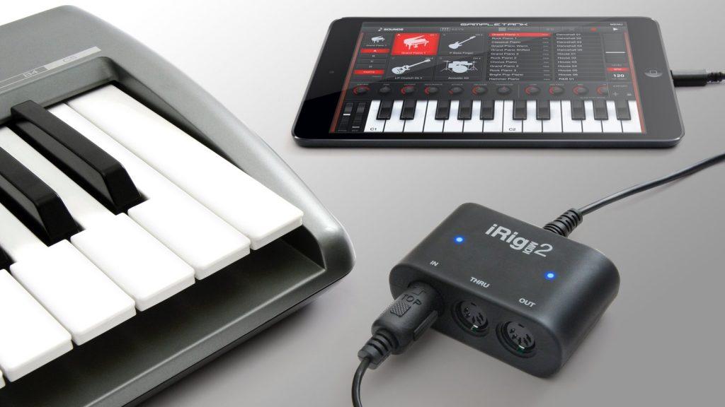 IK Multimedia iRig MIDI 2 - universelles MIDI-Interface für iPad, iPhone und Audio-PC