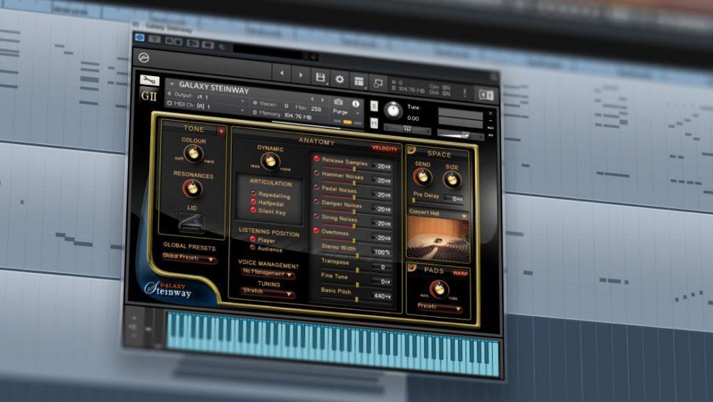 Best Service Galaxy II Steinway - Piano-Library für NI Kontakt / Kontakt Player