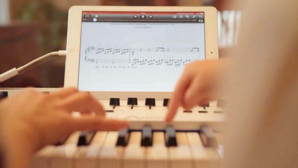 Klavier lernen mit Masterkeyboard und Piano-App