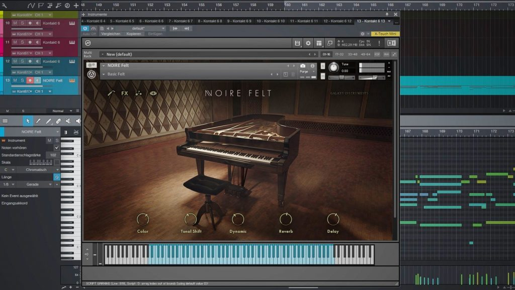 Native Instruments Noire - Piano-Library für NI Kontakt Player