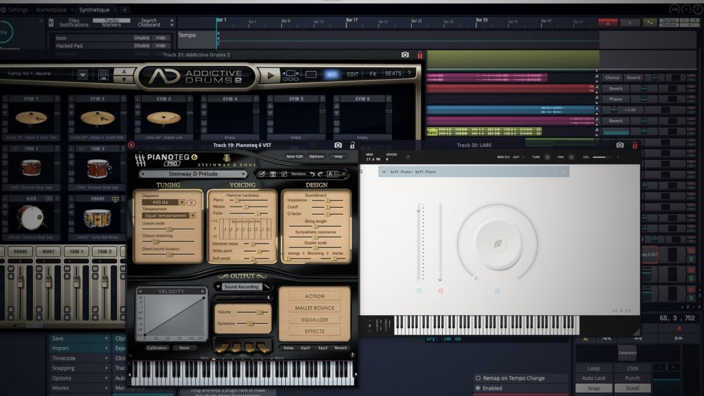 Tracktion 7 Free DAW-Software