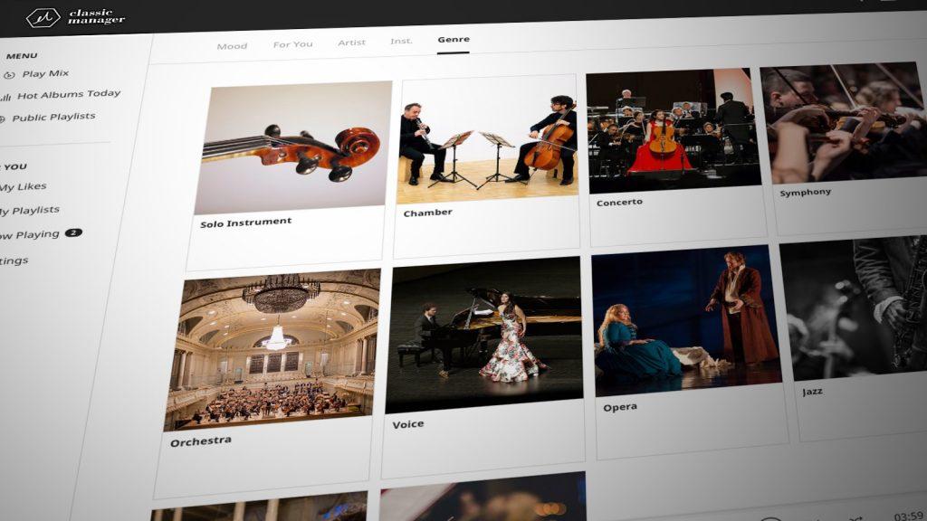 Classic Manager - klassische Musik kostenlos online hören