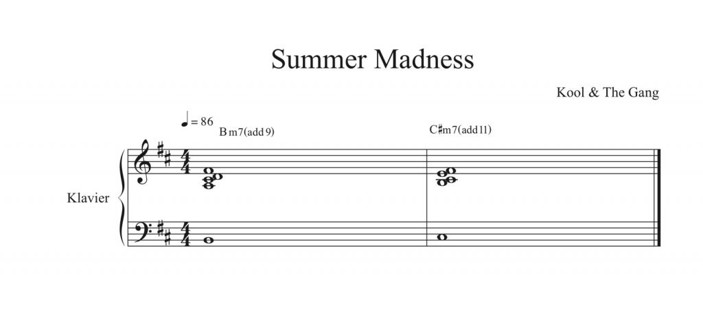 Kool & the Gang - Summer Madness Chords