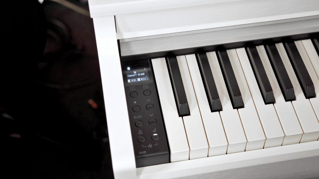 Kawai CN29 mit OLED-Display