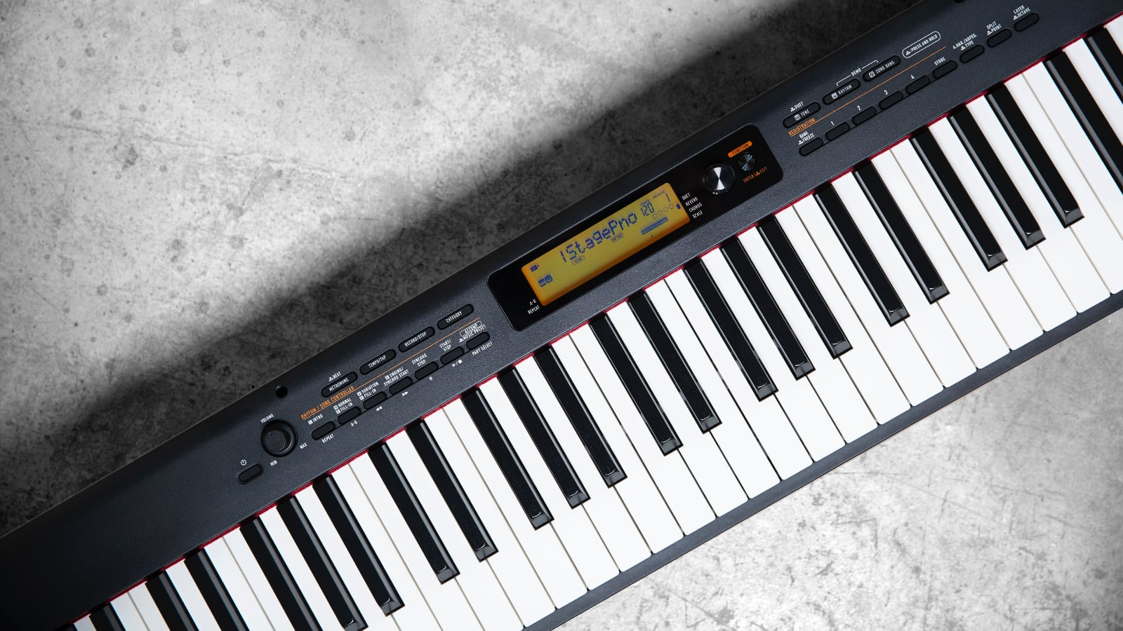 Casio CDP-S350 Portable Piano mit vielen Extras