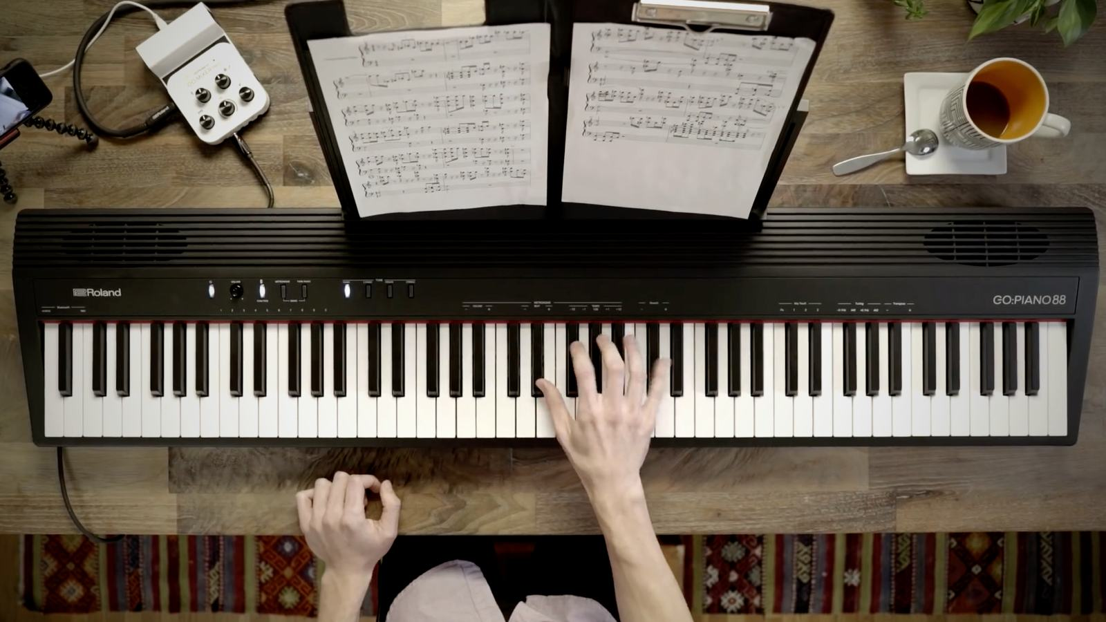 Songwriting mit Roland GO:PIANO 88