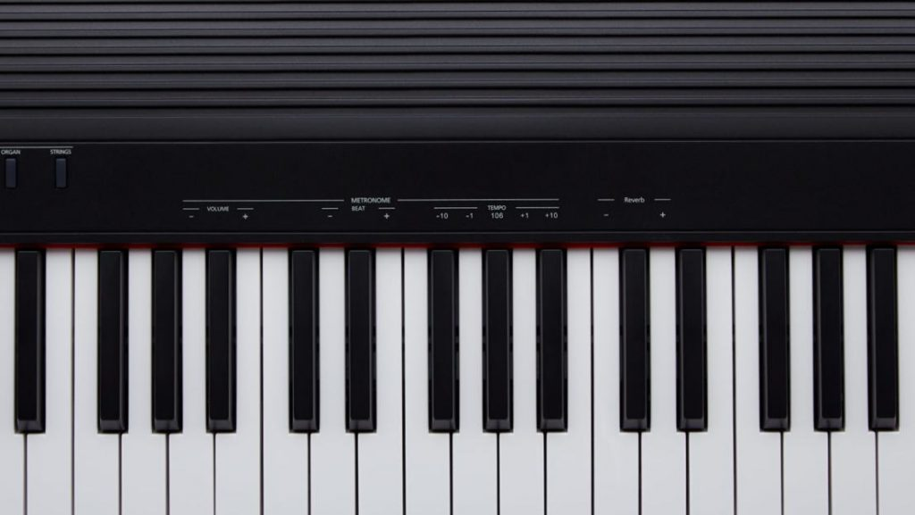 In conjunction with the FUNCTION button, the additional functions can be set using the keyboard.  (Image source: Roland)