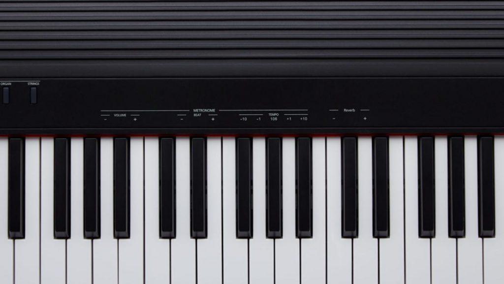 In Verbindung mit dem FUNCTION-Taster können die zusätzlichen Funktionen über die Tastatur eingestellt werden. (Bildquelle: Roland)