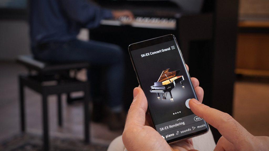 Kawai CA99 Piano Remote