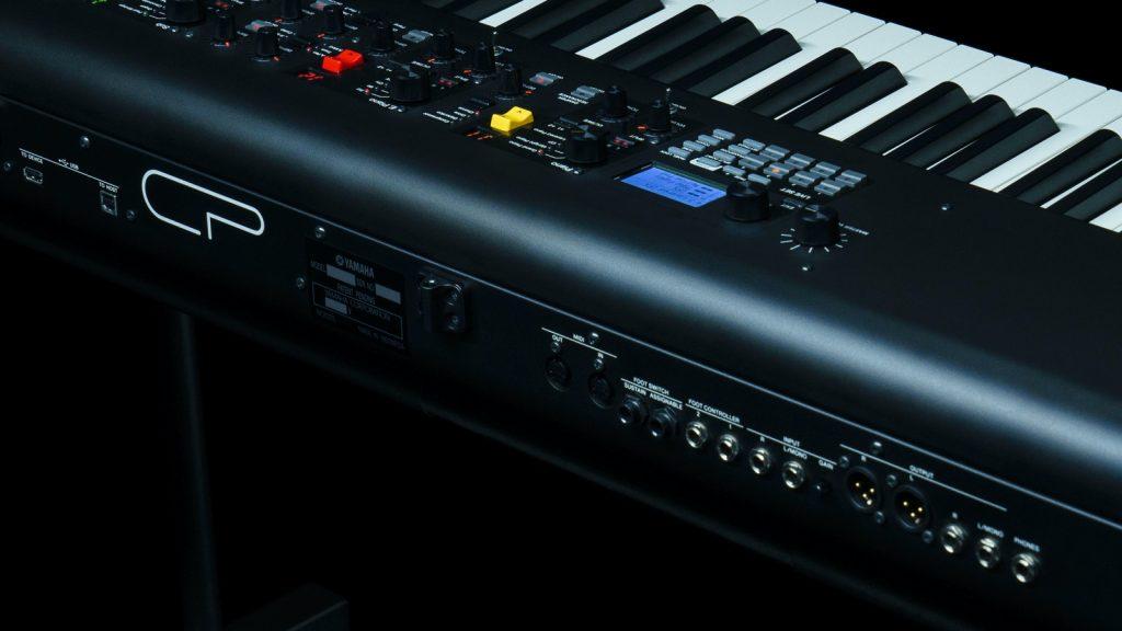 Yamaha CP88 Anschluesse (Bildquelle: Yamaha)