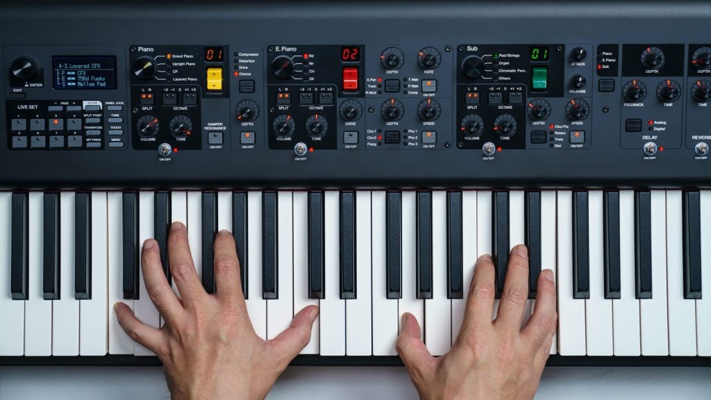 Yamaha CP88 NWGH keyboard and sound sections (Image source: Yamaha)
