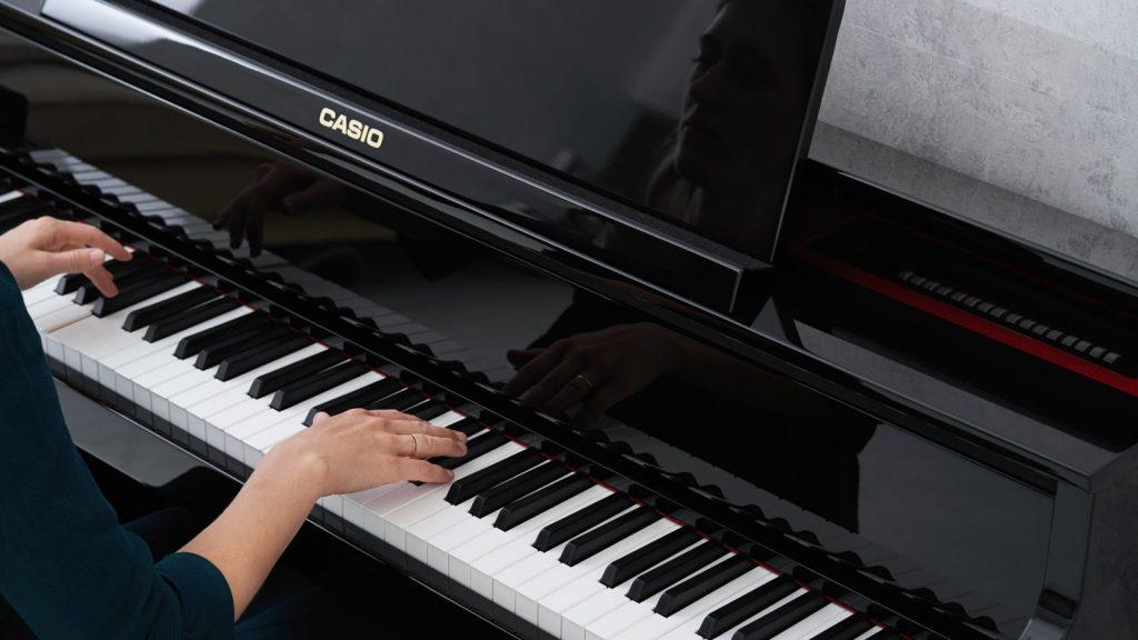 Hybrid Digitalpiano mit Holztastatur: Casio GP-510 (Bildquelle: Casio)