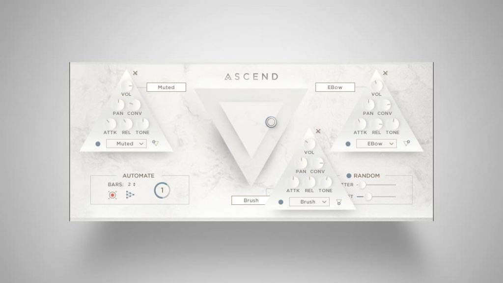 ASCEND Modern Piano: Three Point Mixer