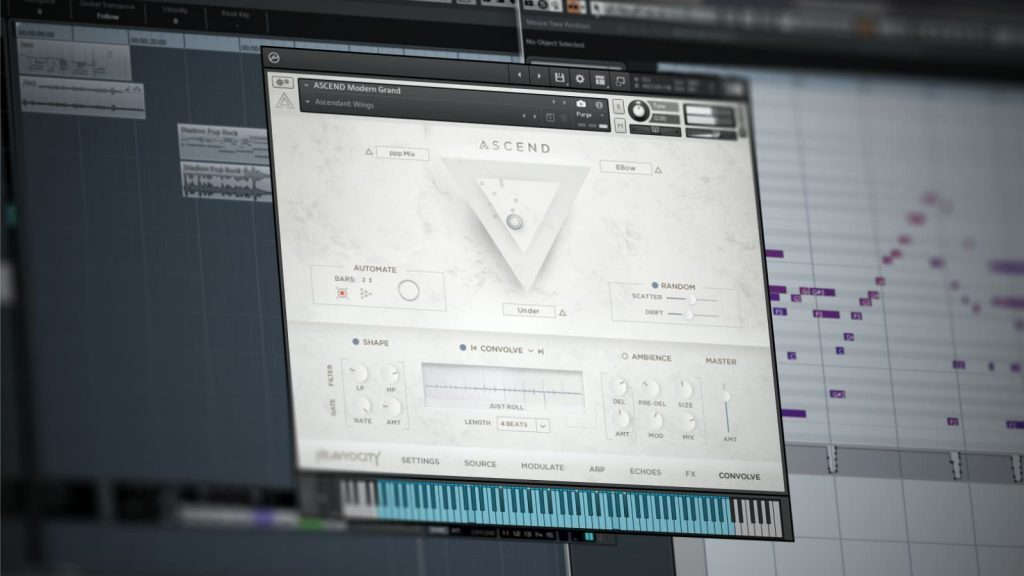 Heavyocity ASCEND Modern Piano - Prepared Piano Library für NI Kontakt bzw. Kontakt Player
