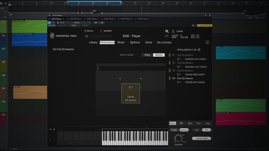 Orchestral Tools Layers & SINE Player