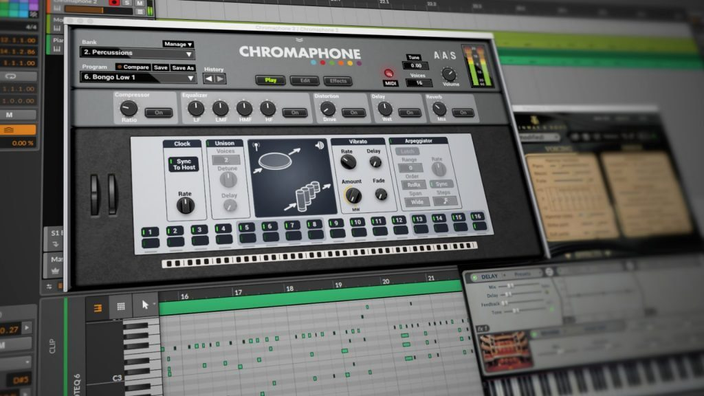 AAS Chromaphone 2 - Acoustic Object Synthesizer