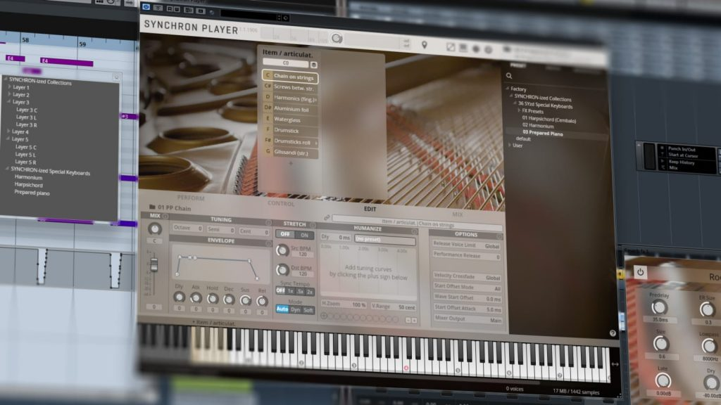 VSL SYNCHRON-ized Special Keyboards - Piano-Library