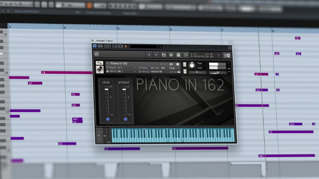 Ivy Audio Piano in 162 - Free Piano Library