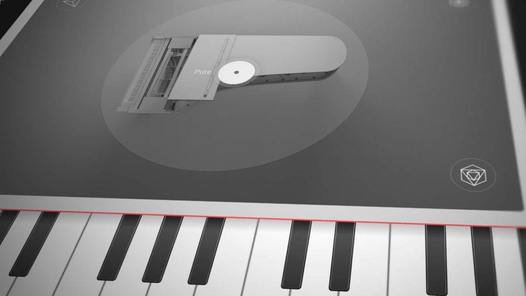 e-Instruments Pure Piano - Man Screen