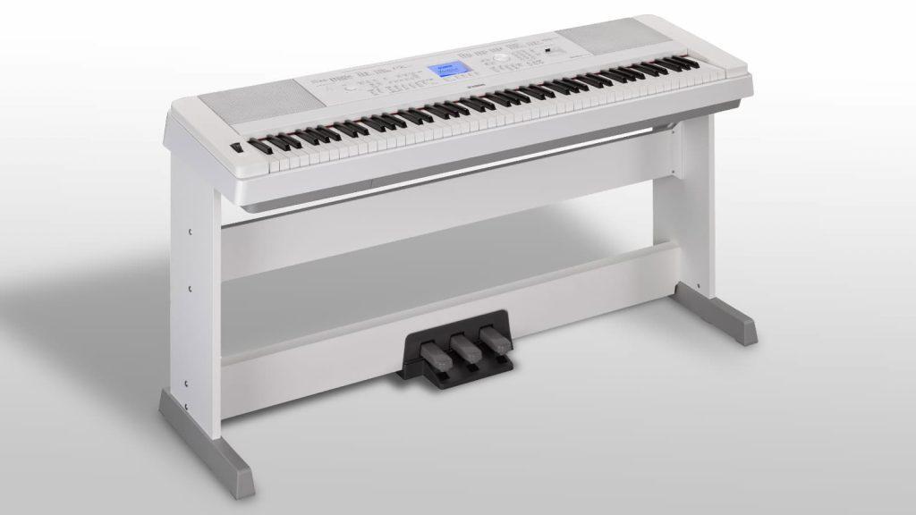 Yamaha DGX-670 WH - die weiße Ausführung ... (Bildquelle: Yamaha)