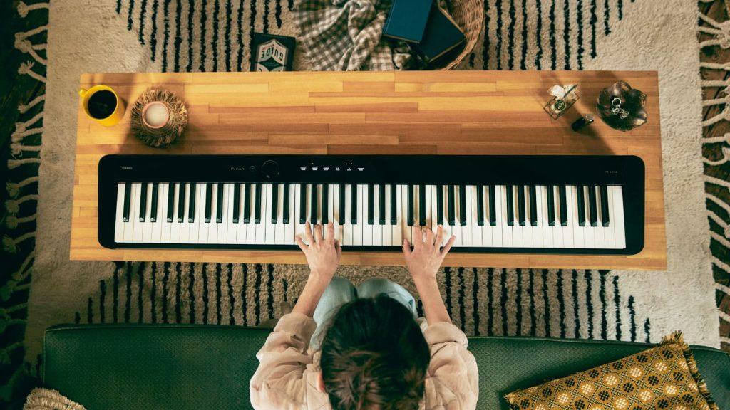 Guter Sound und tolles Spielgefühl im kompakten Portable Piano: Casio PX-S1100 (Bildquelle: Casio)